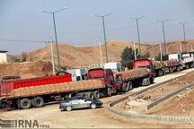 ۷۲۰ میلیون دلار کالا از مرز مهران به عراق صادر شد