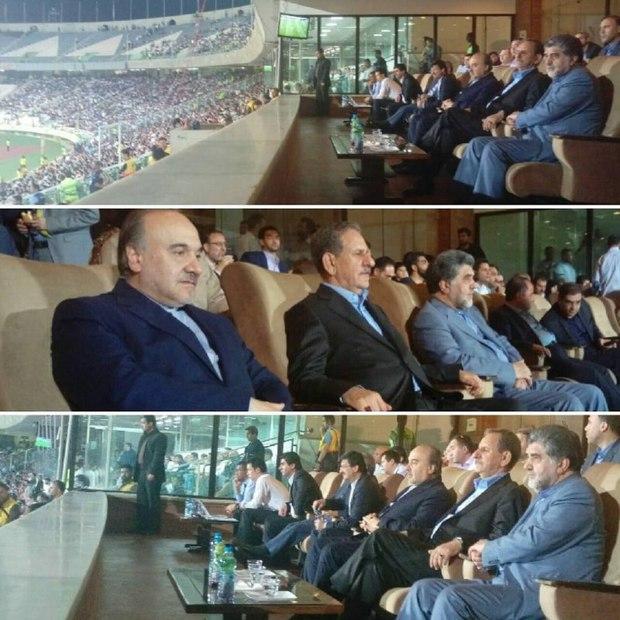 عکسی که اینستاگرام جهانگیری برای نشان دادن حمایت از فوتبال ایران منتشر کرد