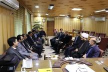 دیدار مدیران توزیع برق و کمیتهامداد گیلان با فرماندار شهرستان رشت