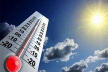 گرمای هوا در قزوین بیشتر می شود