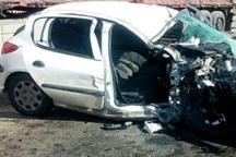 واژگونی خودرو در خاوران جهرم یک کشته برجا گذاشت