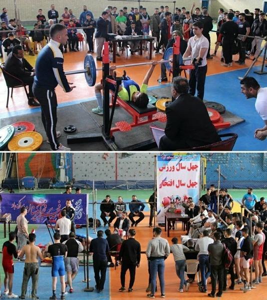 درخشش ورزشکاران آبیک در مسابقات پرسسینه قهرمانی باشگاهی قزوین
