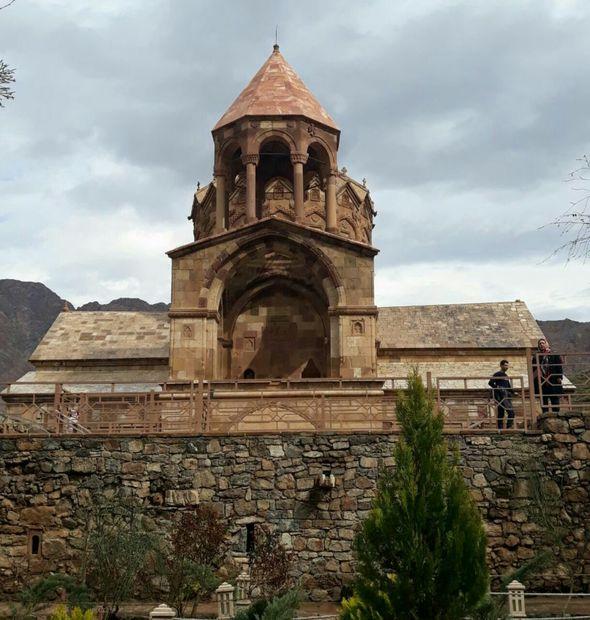 """کلیسای """"سنت استپانوس"""" کلیسایی به نام اولین شهید مسیحیت"""