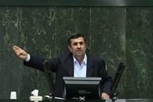 ماجرای گروکشی احمدینژاد از مجلس