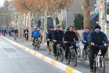 فرهنگیان به فرهنگ استفاده از دوچرخه کمک کنند