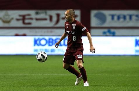 «اینیستا» نخستین گل خود در لیگ ژاپن را به ثمر رساند