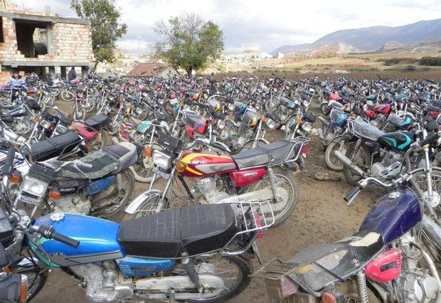 30 هزار موتورسیکلت توقیفی در پارکینگ های قم وجود دارد