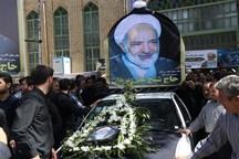 پیکر امام جمعه فقید مهریز تشییع و خاکسپاری شد