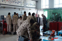 چهار هزار و 108سرباز در قزوین آموزش های مهارتی دریافت کردند