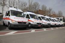 3500 ماموریت اورژانس در غرب خراسان رضوی انجام شد