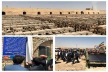 کارخانه آجر ماشینی آجر دژ کردستان در شهرستان قروه به بهرهبرداری رسید