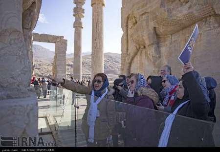 اروپایی ها در صدر گردشگران خارجی بازدید کننده از اماکن گردشگری فارس