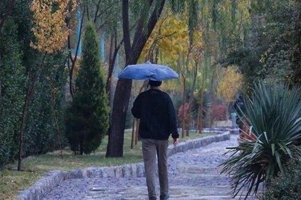 باران موثر بر پهنه اردبیل ؛ هوا زمستانی می شود