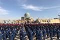 سرود سه هزار نفری دانش آموزان قزوینی با موضوع شهدا اجرا شد