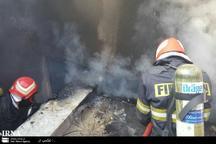 آتش نشانان ورامینی یک کودک معلول را از میان آتش نجات دادند