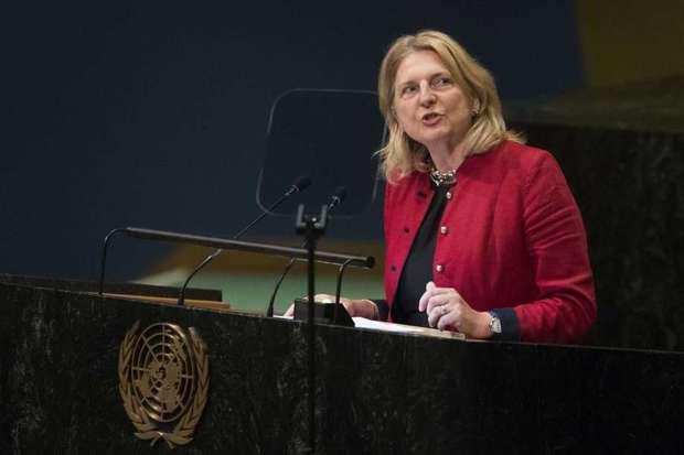 عکس/ وزیری که به چهار زبان در سازمان ملل سخنرانی کرد