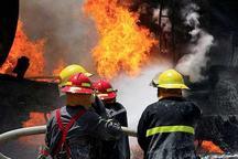 آتش سوزی در کارخانه کاغذسازی  خرم بید مهار شد