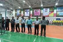 مسابقه والیبال جام رمضان شهرستان قاینات پایان یافت