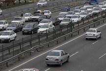 ترافیک در محور هراز و کندوان مازندران نیمه سنگین است