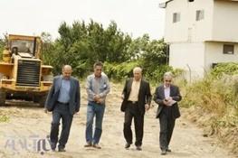 بازدید مدیر کل راه و شهرسازی از راههای شرق مازندران