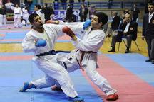 تیم گلستان در مسابقات ورودی تیم ملی کاراته دهم شد