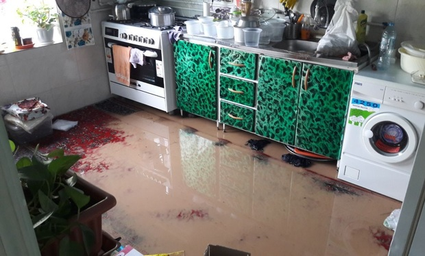 باران به تعدادی ازمزارع و واحدهای مسکونی ساوجبلاغ خسارت زد