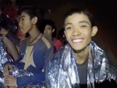 پایان موفقیتآمیز عملیات نجات ۱۲ نوجوان تایلندی و مربیشان