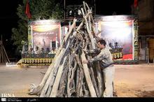 هیزم مورد نیاز آیین عاشورای حسینی تامین شد