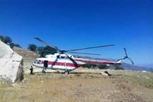 بالگرد اورژانس، چوپان مجروح را به بیمارستان منتقل کرد