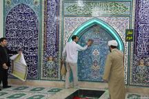74 مسجد در محله های مرکزی پایتخت در آستانه ماه رمضان غبارروبی شد