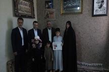 طرح سپاس از 540 خانواده معظم شهدا و ایثارگر قرچک برگزار شد