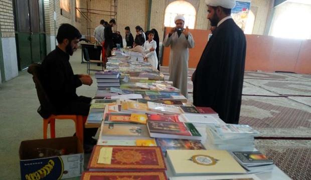 نمایشگاه محصولات فرهنگی در مصلی دلگان برپا شد