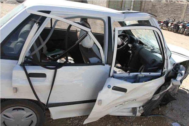 حادثه رانندگی ساوه یک کشته و چهار مصدوم داشت