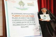 کسب مقام برتر کشوری توسط دانش آموز فردیسی درجشنواره نوجوان سالم