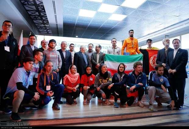 ایران قهرمان مسابقات بین المللی پله نوردی شد