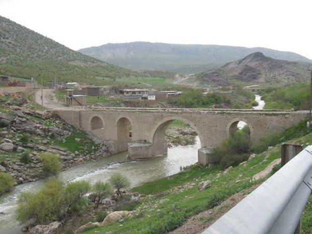 پل جدید کاکارضا الشتر تخریب شد