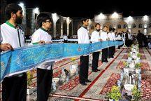 برپایی بزرگترین سفره اطعام خادمیاران در مسجدجامع