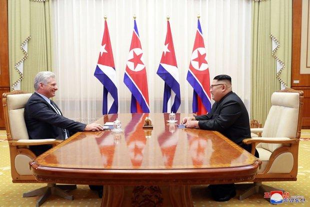 کوبا کره شمالی