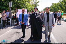 حضور شخصیت های سیاسی در راهپیمایی روز جهانی قدس