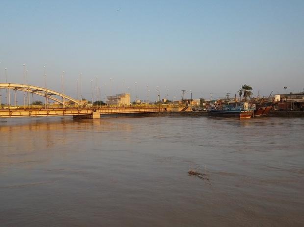 445 میلیون متر مکعب آب از رودخانه زهره به دریا ریخت