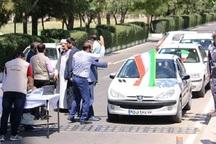رالی خانوادگی مشهد - کاشمر برگزار شد