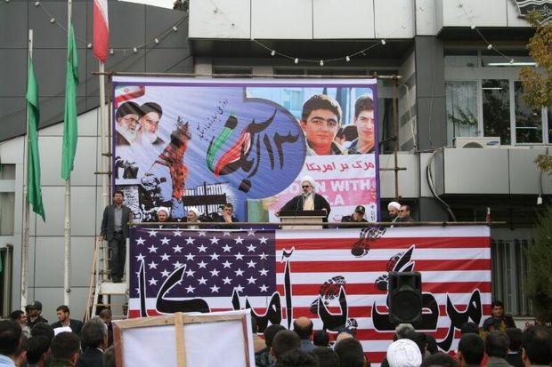 مسیرهای راهپیمایی ۱۳ آبان در میاندوآب اعلام شد