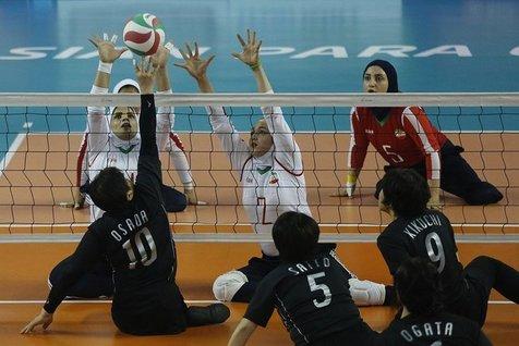 دومین برد تیم ملی والیبال نشسته در رقابتهای قهرمانی آسیا
