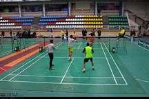 مسابقات بین المللی بدمینتون فجر ایران در زنجان آغاز شد