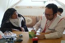 کاروان سلامت هلال احمر خراسان شمالی به 650 نفر خدمت رساند