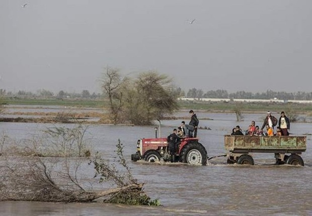 7 روستای در معرض سیل بشرویه تخلیه شدند