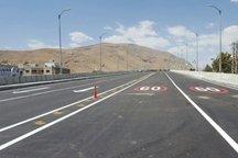 بخش شمالی بزرگراه شهید صیاد شیرازی بهره برداری شد