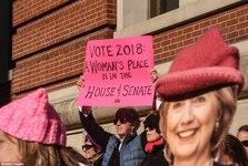 تظاهرات زنان ضد ترامپ در 250 شهر آمریکا+ تصاویر
