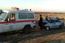 347 واژگونی خودرو در جاده های سبزوار در سال 95