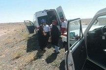 واژگونی خودرو در جاده سبزوار - شاهرود چهار مصدوم برجای گذاشت